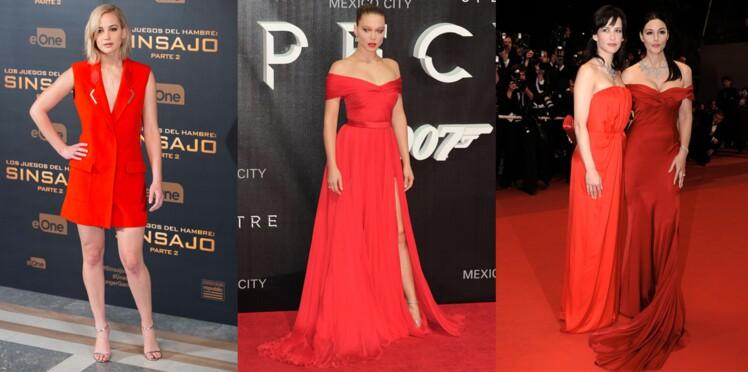 Robe rouge : les plus beaux looks de stars