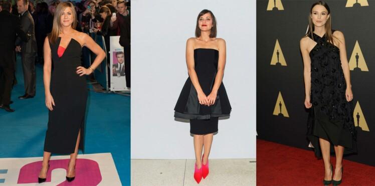 Les stars, fans de la petite robe noire !