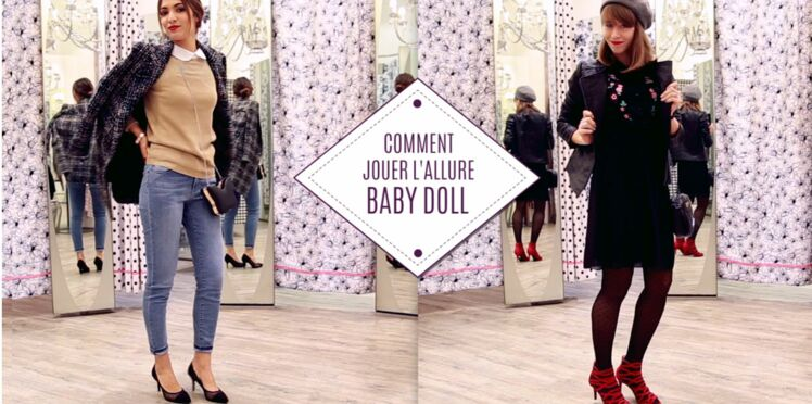 Comment jouer l'allure baby doll ?