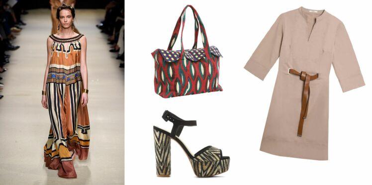 """Tendance ethnique : un look esprit """"couture à Dakar"""""""