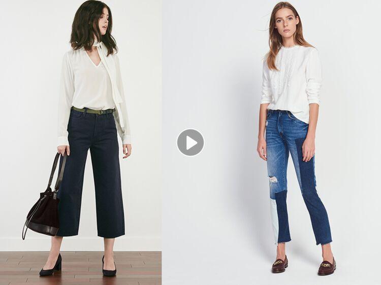 fcfab8a5068f Jean   30 nouveautés tendance à shopper en 2018   Femme Actuelle Le MAG