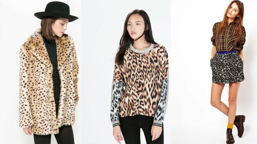 "Tendance léopard, pour un look ""jungle urbain"" !"