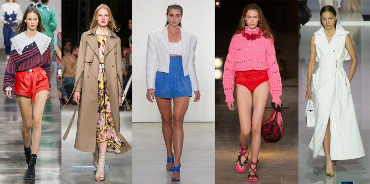 Les tendances mode printemps-été 2018