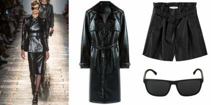 27ad8c9d1fd395 Culotte et veste en cuir : Penelope Cruz se la joue sexy pour un ...