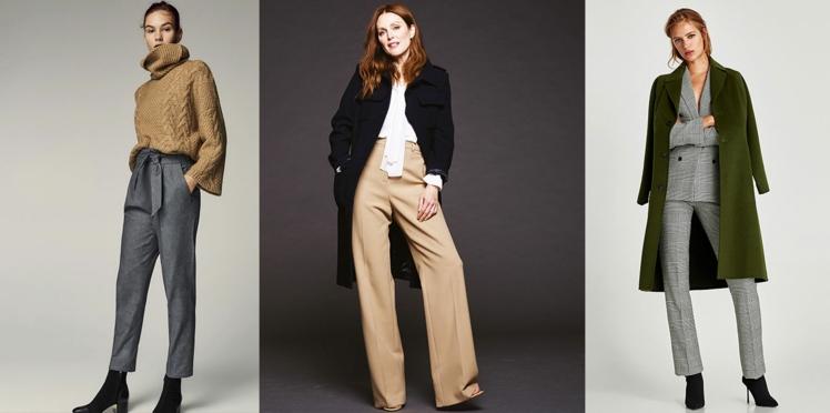 30 pantalons d'hiver pour changer du jean !