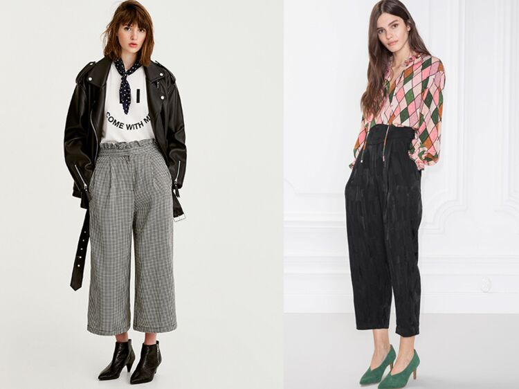 8eabe007685 Pantalon large   20 modèles au top pour adopter la tendance   Femme  Actuelle Le MAG