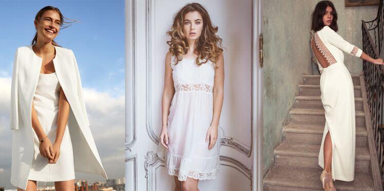 Robe blanche : 35 modèles chics pour un mariage à prix doux