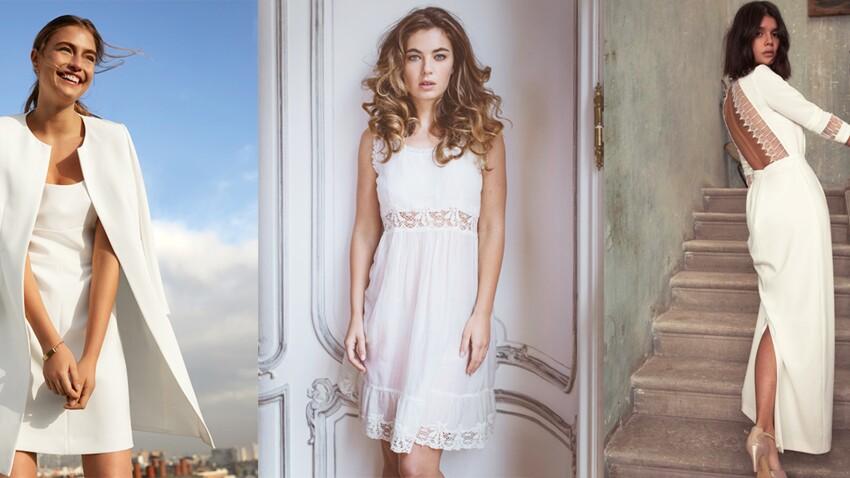 Robe blanche : 35 modèles chics pour un mariage