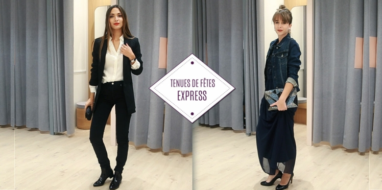 VIDEO - Une tenue de fêtes express !