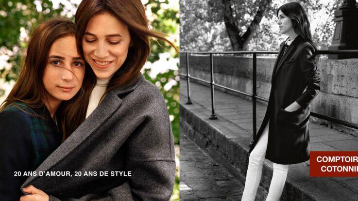 Vidéo : Charlotte Gainsbourg et sa fille Alice posent pour Comptoir des Cotonniers