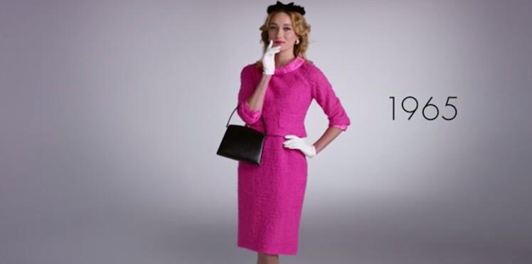 Vidéo : un siècle de mode en 2 minutes