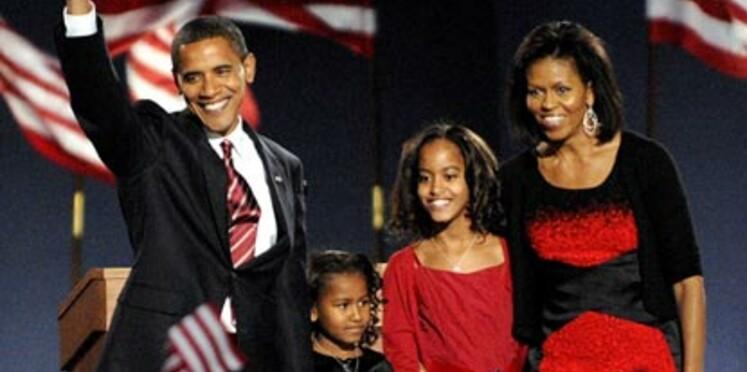 Bonpoint habille les filles d'Obama pour l'investiture