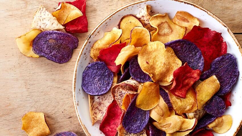 Chips de légumes : sont-elles meilleures pour notre santé ?