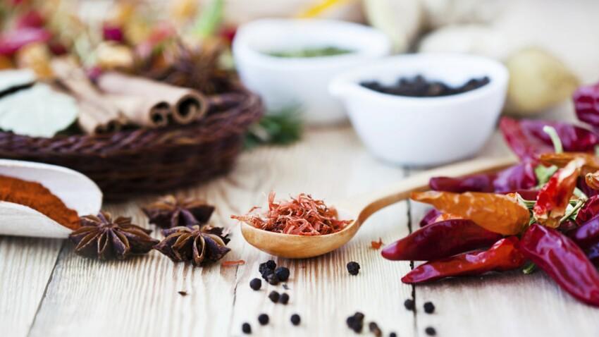 Les vertus santé des épices