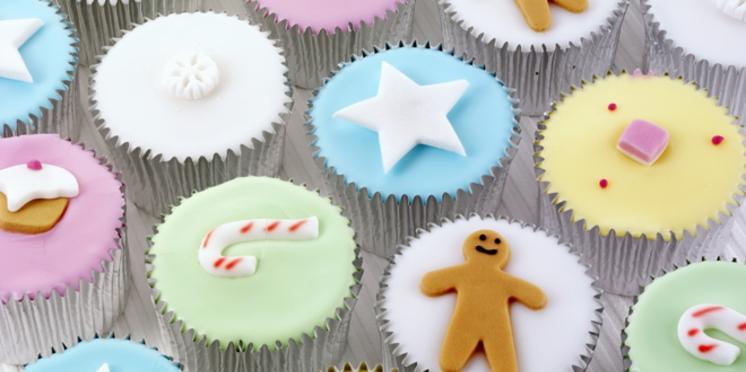 Réalisez des cupcakes de Noël sans sucre