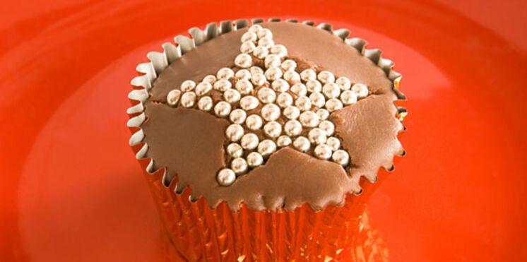 Des cupcakes sans gluten pour noël
