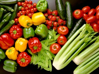 Lavez bien vos légumes !