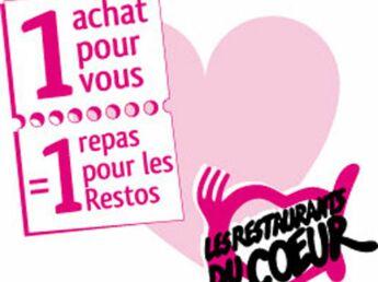 Aidez les Restos du cœur en faisant vos courses