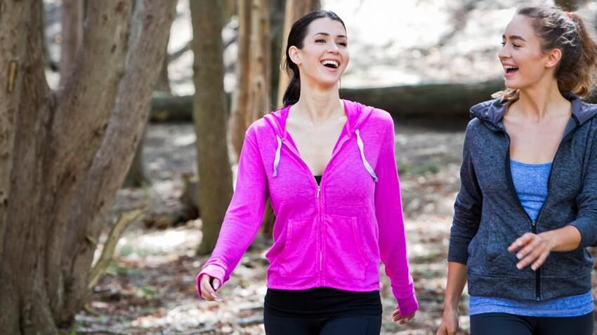 Les bienfaits santé de la marche