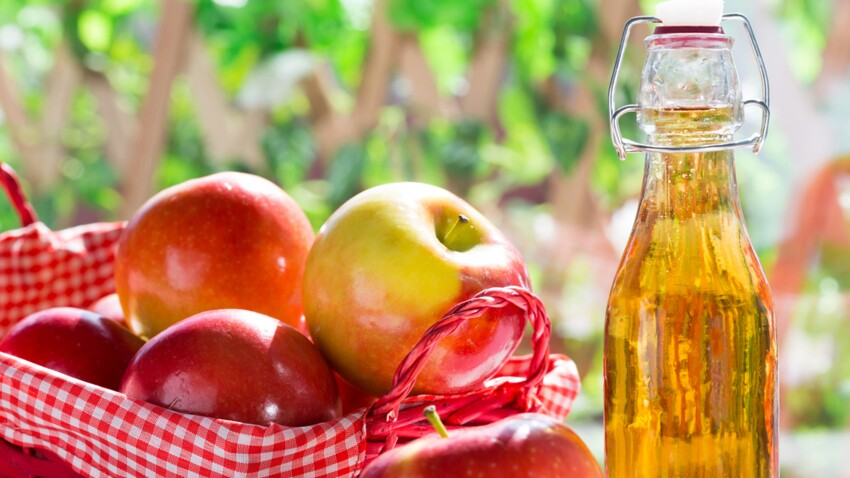 The 6 health benefits ... of cider vinegar: Femme Actuelle Le MAG