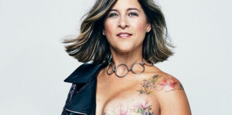 Cancer Du Sein Elles Posent Topless Et Devoilent Leurs Tatouages