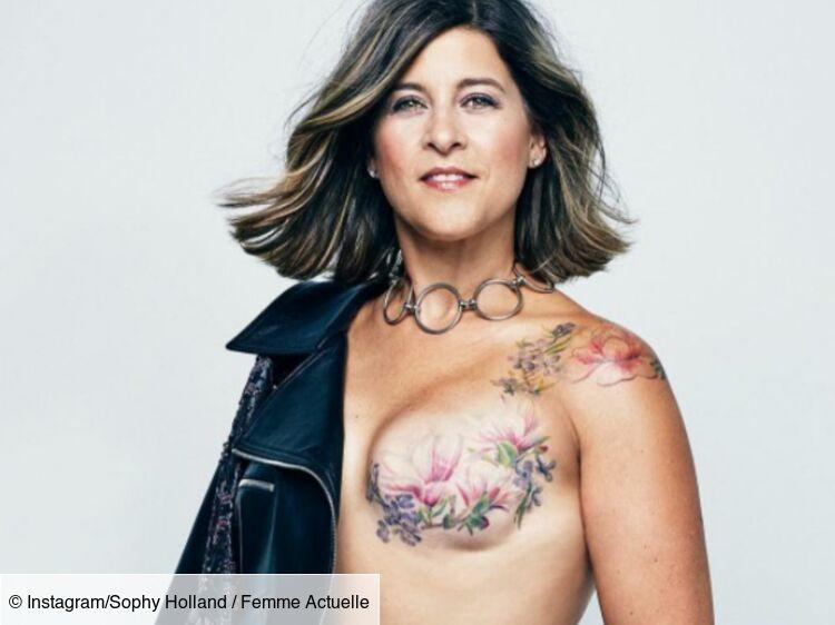 Cancer Du Sein Elles Posent Topless Et Devoilent Leurs Tatouages Post Mastectomie Femme Actuelle Le Mag
