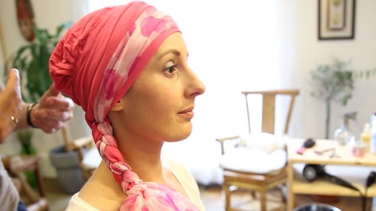 10 façons de nouer un turban   Femme Actuelle Le MAG 5e4e89292ac