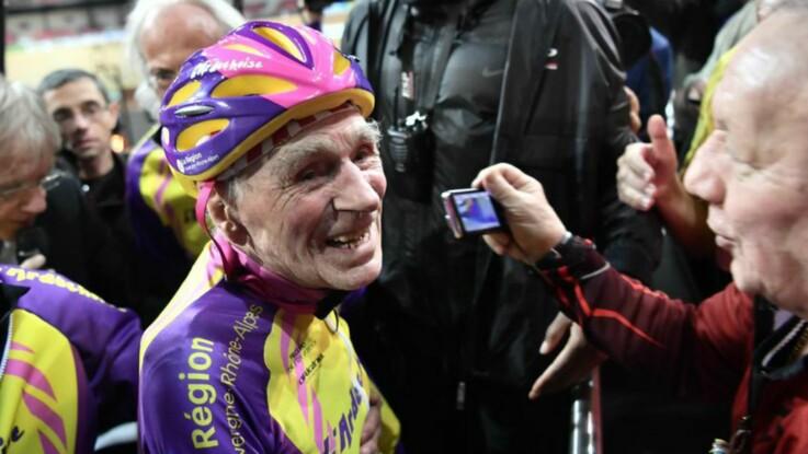 À 105 ans, Robert Marchand continue de battre des records