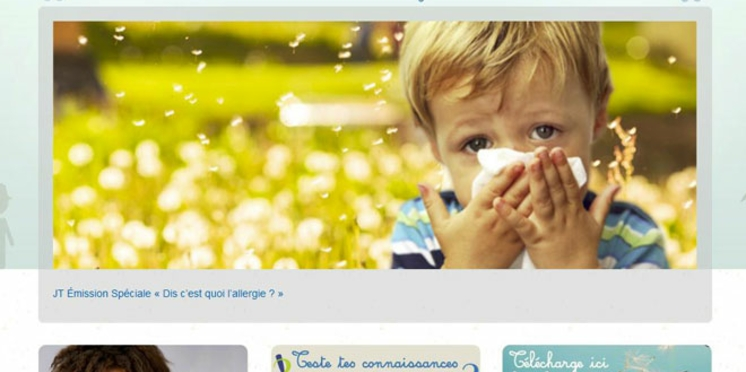 Allergies : un site pour sensibiliser les plus jeunes