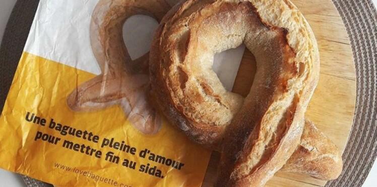 1000 boulangers proposent une baguette à 2€ pour soutenir la lutte contre le sida