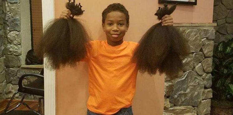 Cancer : À 8 ans il fait des heureux en donnant ses cheveux