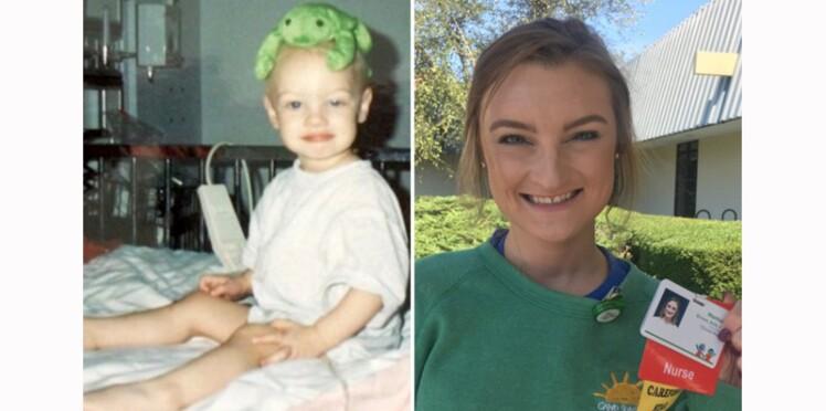 Après s'être battue contre deux cancers, elle devient infirmière dans l'hôpital qui lui a sauvé la vie