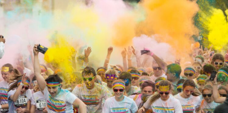 Les courses colorées sont-elles dangereuses pour la santé ?