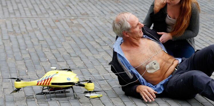 Arrêt cardiaque : un drone pour sauver la vie