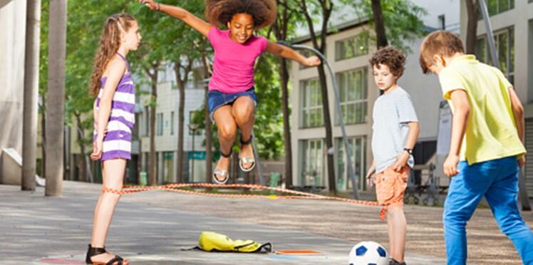 Les enfants ont plus d'énergie que les athlètes de haut niveau