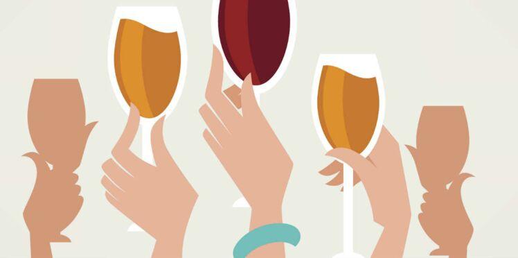 Quand les femmes préfèrent un verre de vin pour se déstresser...