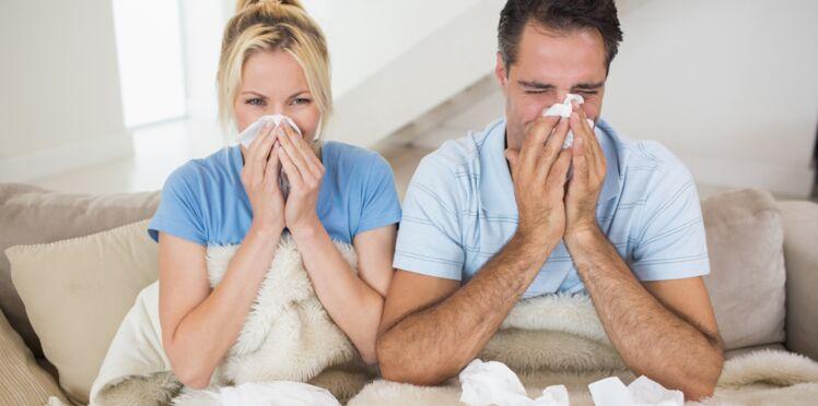 Grippe : les hommes souffrent plus que les femmes