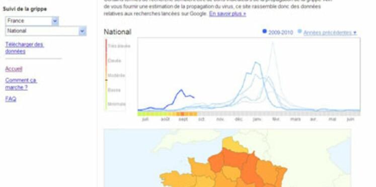 Grippe: suivez l'évolution de l'épidémie en direct sur Google