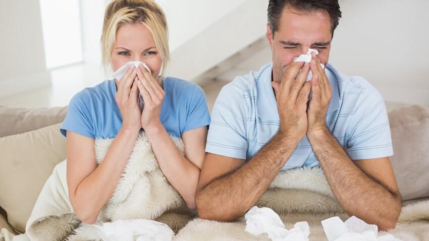Grippe : 1 million de personnes touchées par le virus