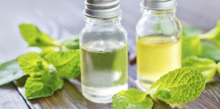 L'huile essentielle de menthe poivrée, efficace contre les maux de ventre
