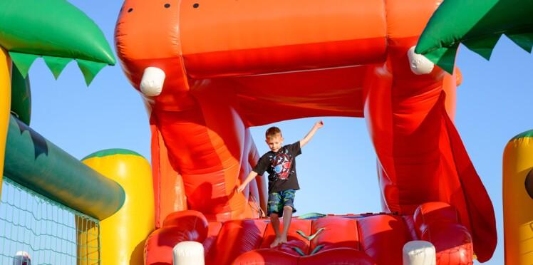 Les jeux gonflables seraient dangereux pour les enfants