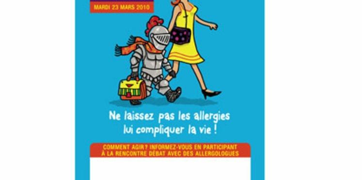 """""""L'enfant allergique"""" au centre de la Journée Française de l'Allergie"""