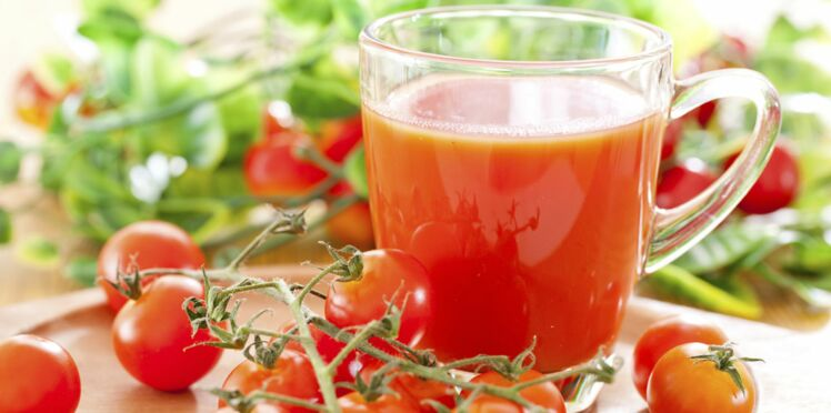Du jus de tomate contre la ménopause ?