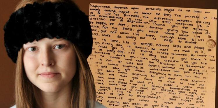 L'incroyable lettre d'adieu de cette petite fille morte d'un cancer