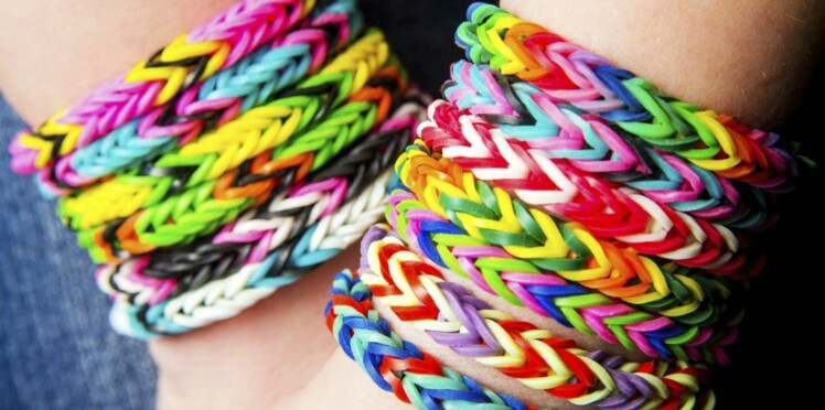 Bracelets rainbow loom : attention aux phtalates !