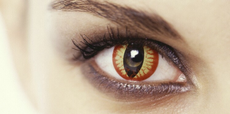 Lentilles de couleur, attention les yeux