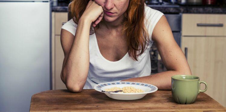 Manger trop gras peut conduire à la dépression