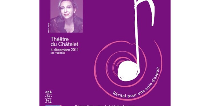 Natalie Dessay chante contre la sclérose en plaques
