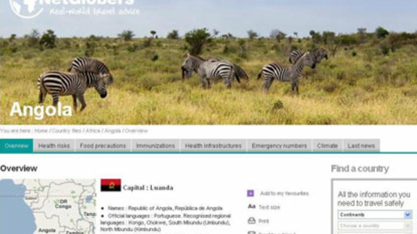 Netglobers : un site Internet sur la santé en voyage