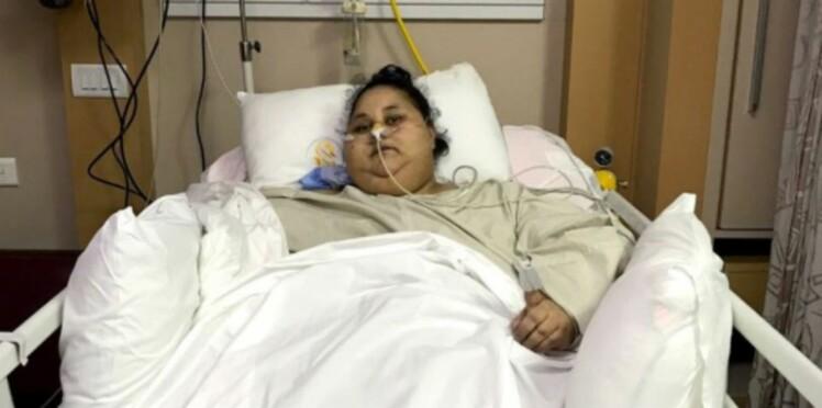 """Trois jours après son opération, la """"plus grosse femme du monde"""" a déjà perdu 100 kg"""